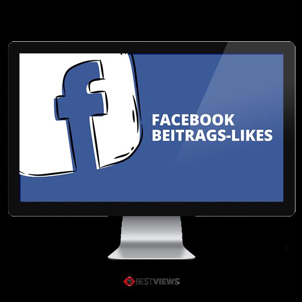 Facebook Beitrags Likes kaufen