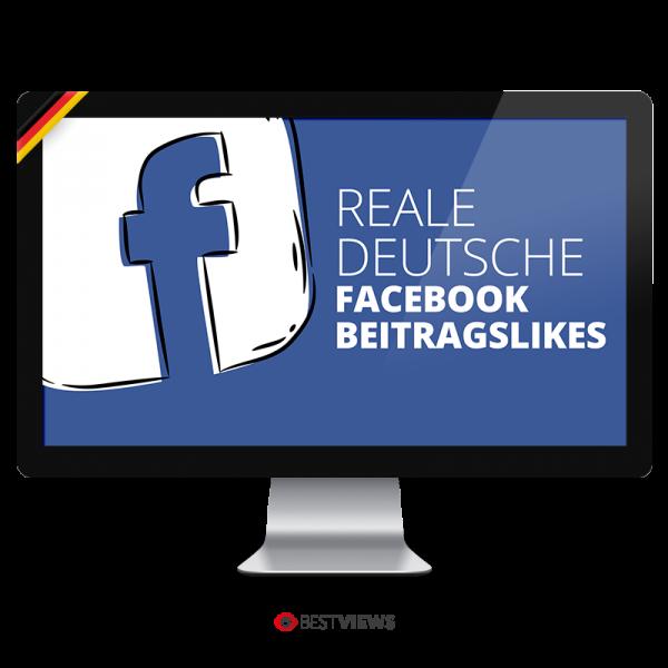 Facebook reale deutsche Beitrags Likes kaufen