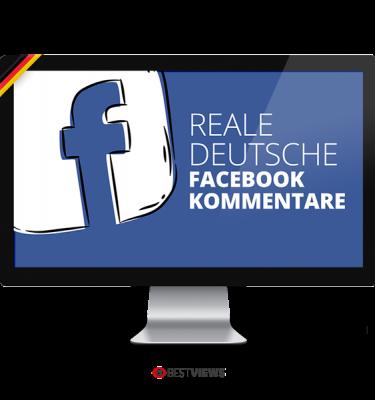 Facebook reale deutsche Kommentare kaufen