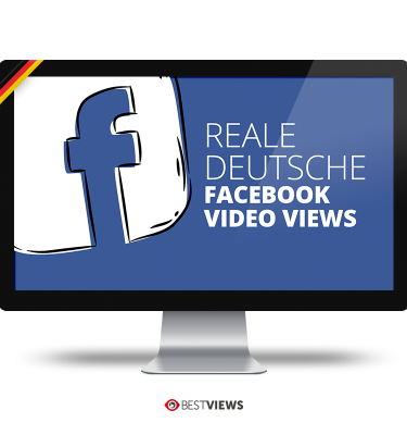 Facebook reale deutsche Video Views kaufen