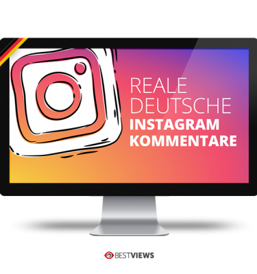 Instagram reale deutsche Kommentare kaufen
