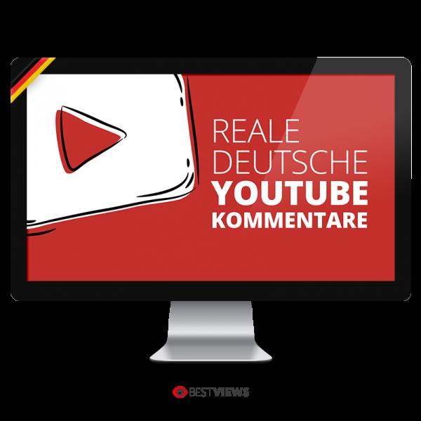 Deutsche YouTube Kommentare kaufen